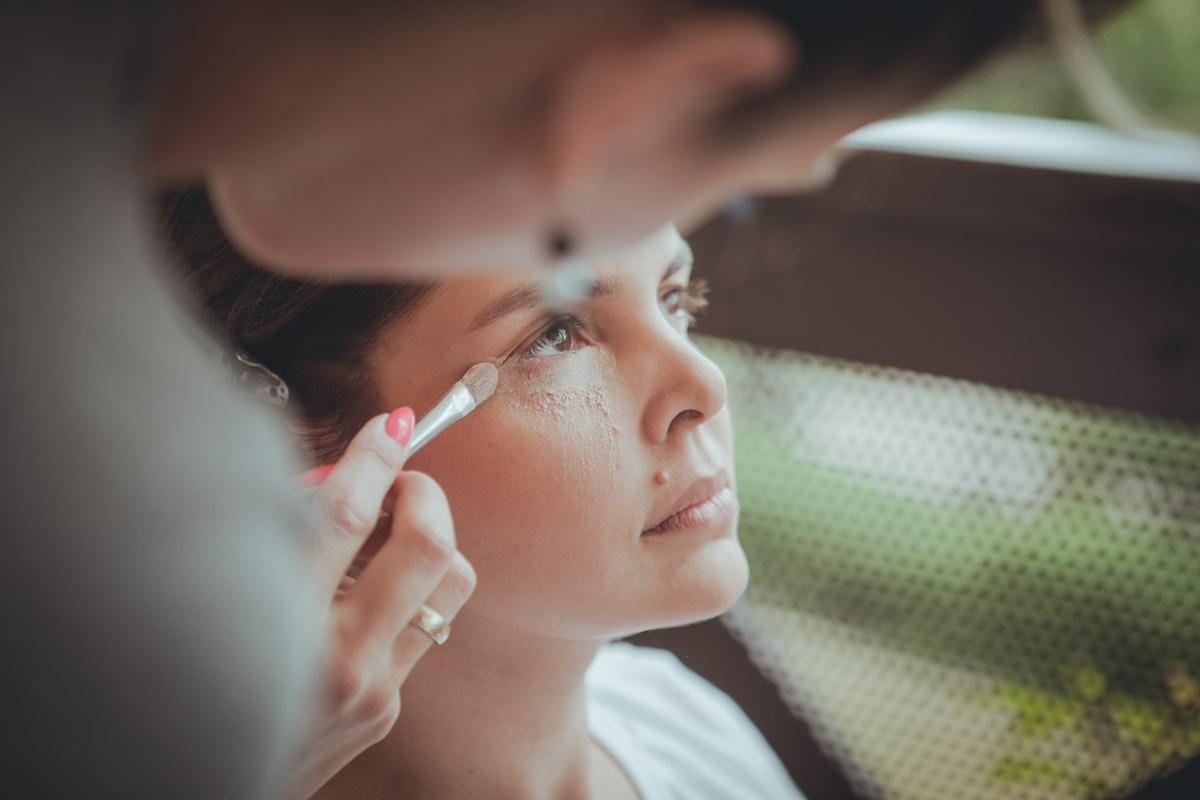 Makeup, przygotowania do ślubu