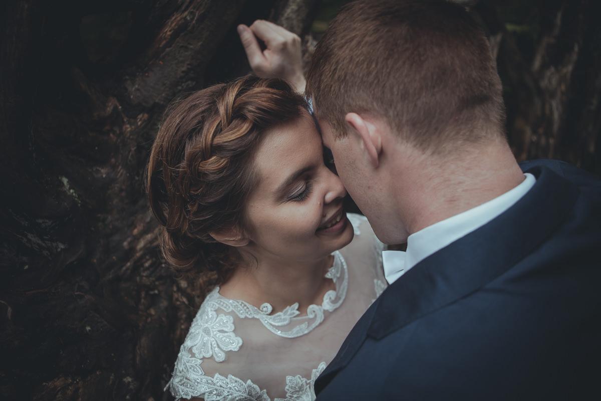 Miłość, subtelność, para młoda