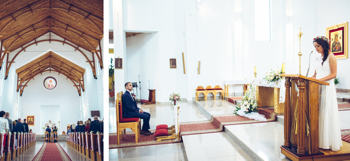Ceremonia kościelna Wągrowiec