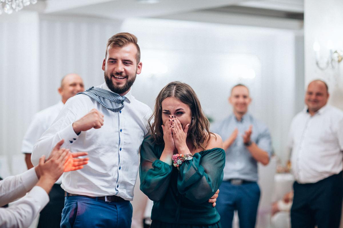 radość na weselu