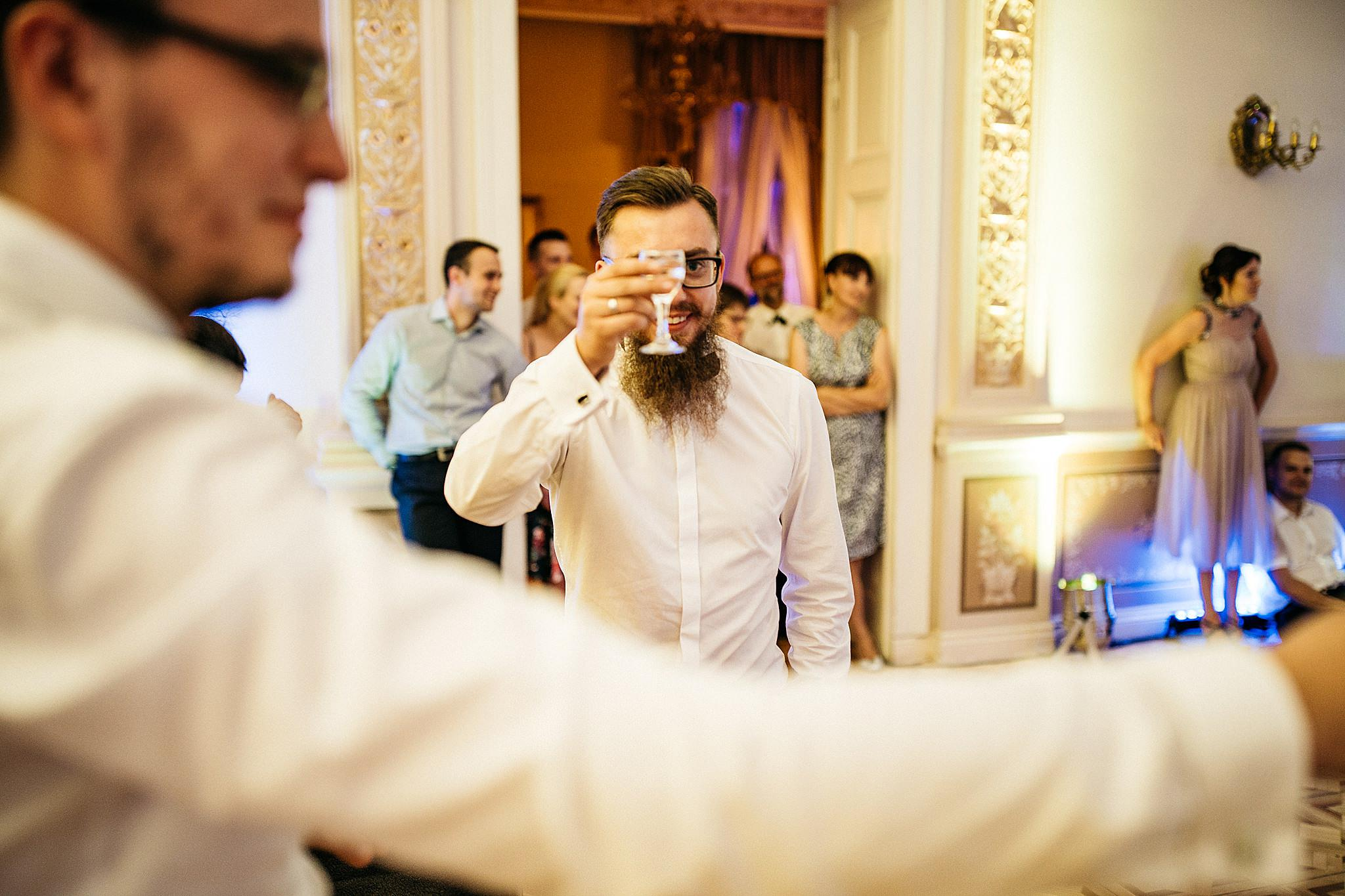 Palac Biedrusko wesele
