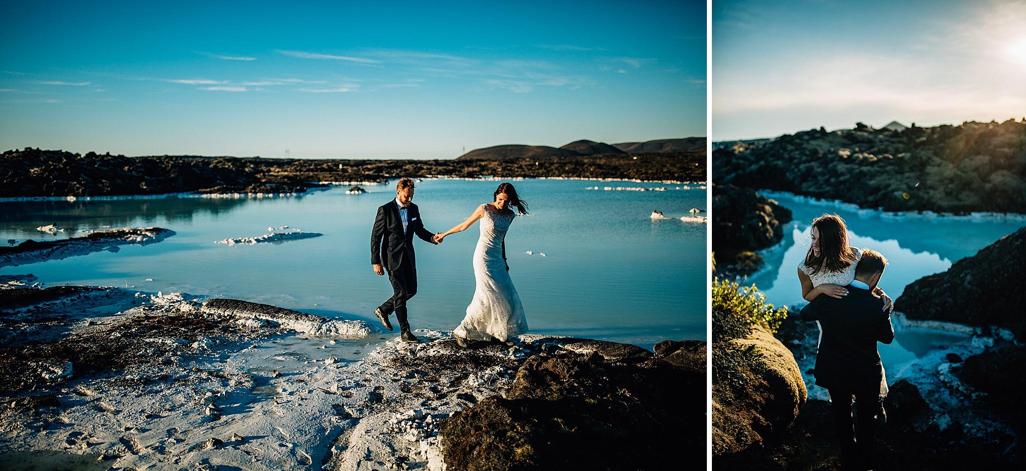 Blue Lagoon Islandia sesja poslubna