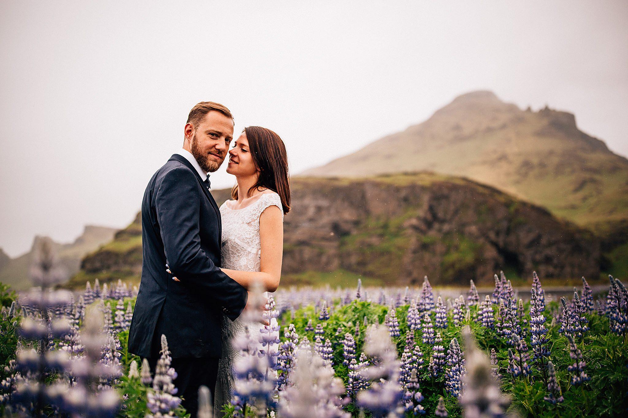Sesja plenerowa pary mlodej na Islandii