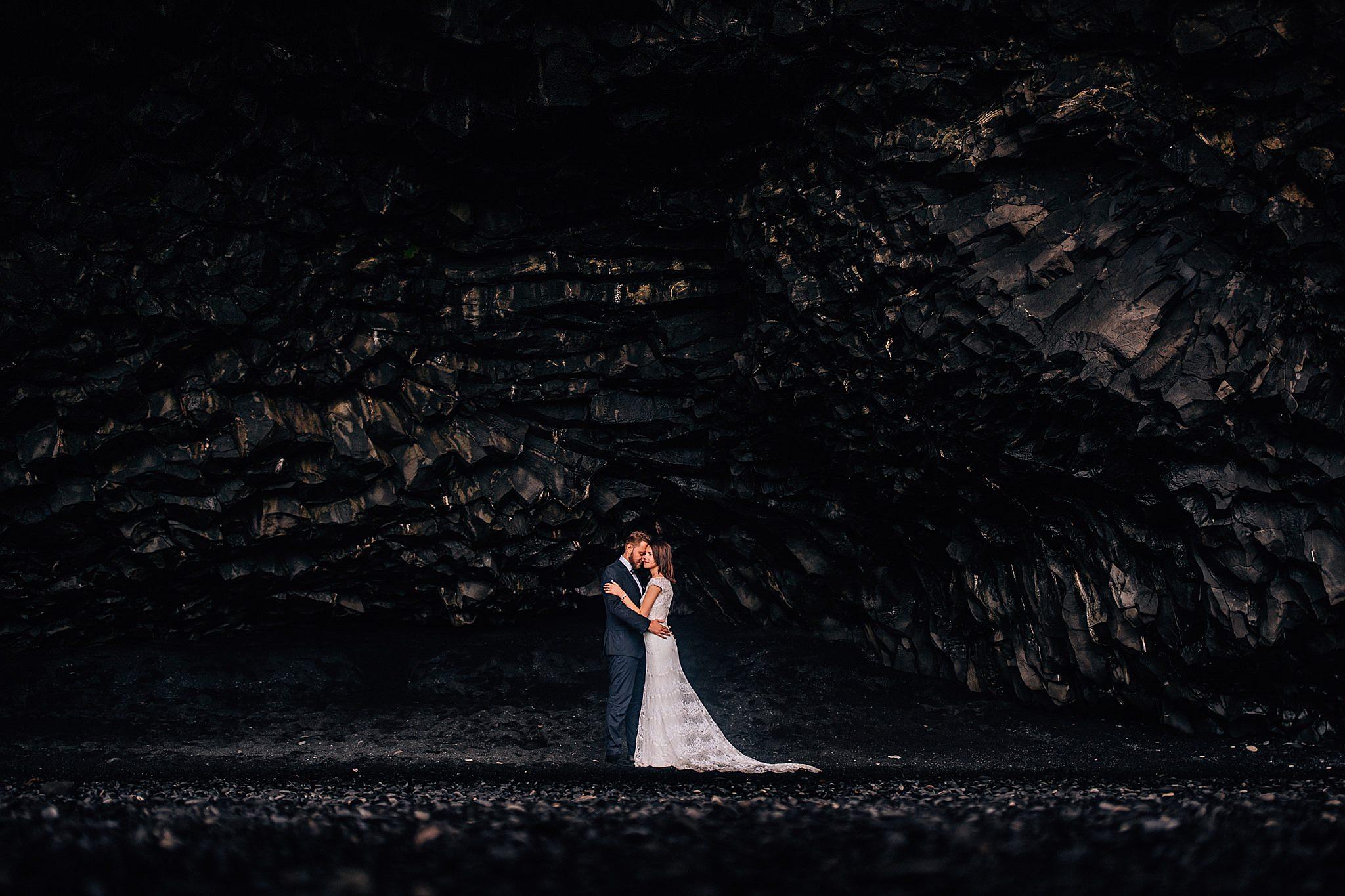 Sesja pary mlodej na Islandii